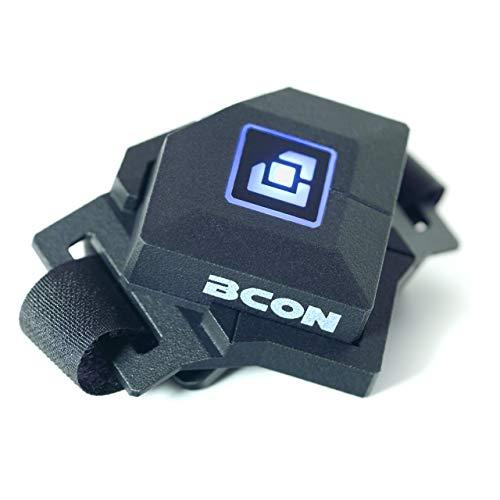 Bcon ergänzt Gaming-Tastatur und Maus für mehr Leistung, tragbarer Controller, Game-Schalter Pedal, Fußcontroller, kabellos HID, RGB LED, alle Windows PC Spiele