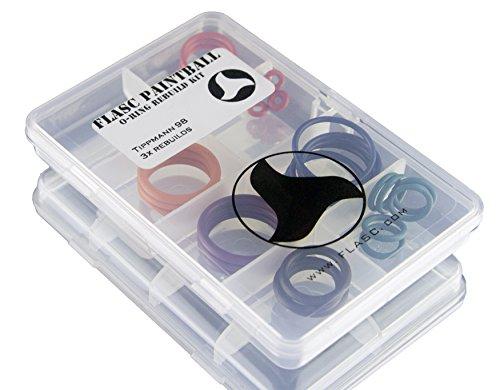 Flasc Paintball Tippmann 983x Color Coded Paintball Junta Tórica Kit de reconstrucción