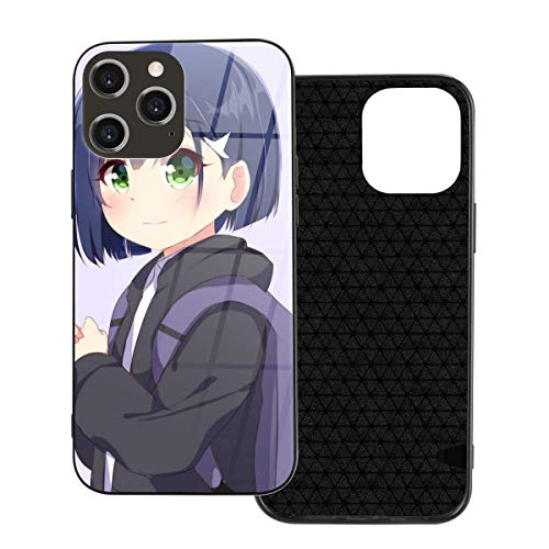 HHYY Anime Darling in The Franxx Ichigo Phone Case Compatible with Funda iPhone 12 Pro MAX, Popular Anime One Piece Tempered Glass Back Cover Design Phone Cases Style 669