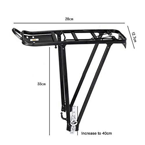 Mountain Bike Transporter Cargo achterframe aluminium Shelf Fietsenrek Bagagerek geladen kunnen worden fietsaccessoires dmqpp