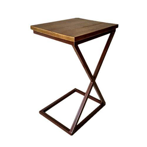 Table d'appoint Petite table basse Canapé Meuble latéral Salon Chambre à coucher Table de chevet Table amovible Bureau Moderne Minimaliste (Size : 40 * 32 * 70cm)