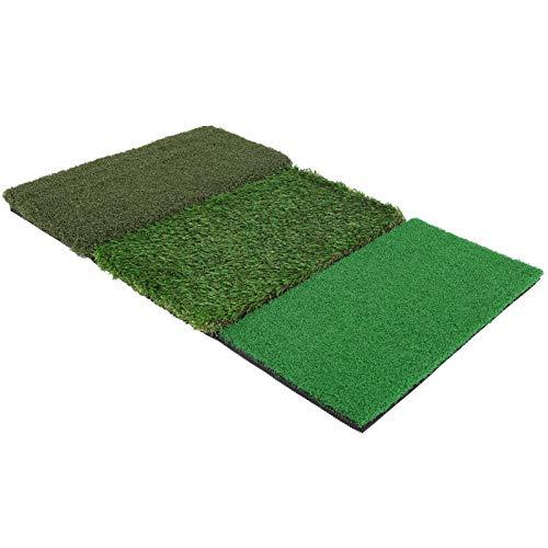 SALUTUYA Alfombrilla de Golf al Aire Libre para Patio Trasero, 64x41 cm, práctica Alfombrilla de práctica para Columpios de Golf, Duradera para la Oficina, para la Familia