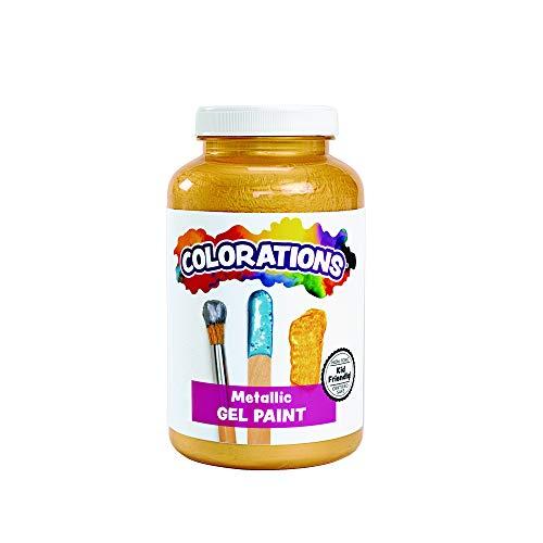 Colorations CMPGO Activity Paint, Metallic Gold 16 oz.