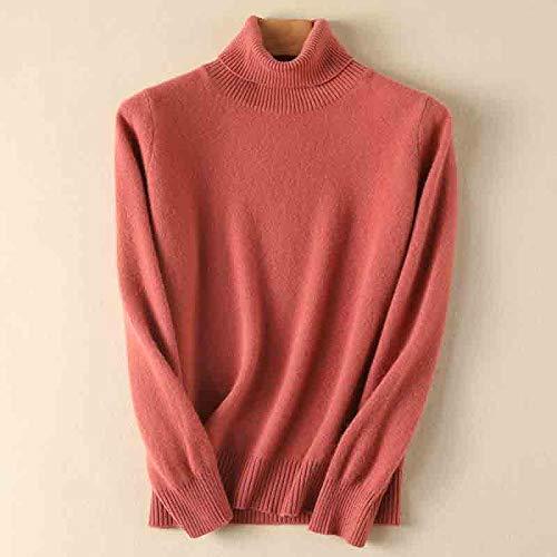Moda damska bluza z kapturem sweter sweter bluza damski golf sweter ciepły miękki dzianinowy sweter damski sweter damski sweter XL różowy
