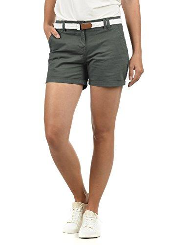 Desires Chanett - Pantaloni Chino da Donna, Taglia:38, Colore:Dark Grey (2890)