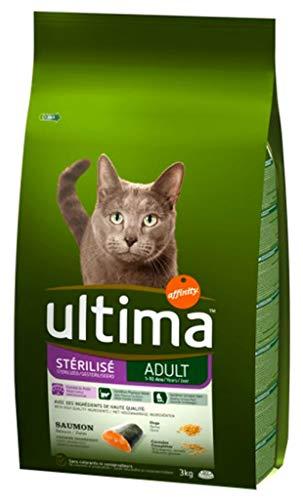 Ultima II Ultima Dry Cat STA © Rilisã © Adult Lachs 3kg (Lot von 2) 1