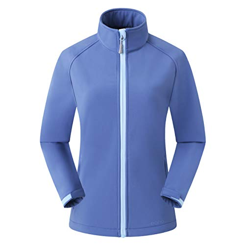 Amazon Marke: Eono Essentials Damen-Softshell-Jacke, Übergangsjacke - Medium, Blau