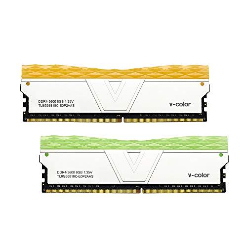 v-Color Prism II RGB 16GB (2 x 8GB) DDR4 3600MHz...
