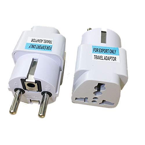 MAO YEYE New Arrival 2017 Best Price Universal UK US AU to EU White European Charger Power Socket Plug Power Adapter Travel Converter