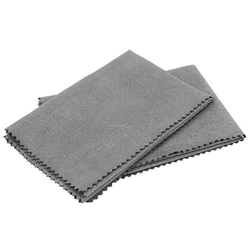 2 Pack Silicone Gun Cloth- 12'x12' Microfiber Cloth For...