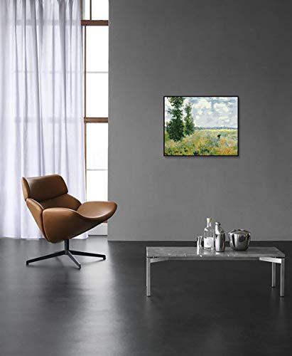 DIY Schilderen op nummerkinderen schilderen kitAl's klaproos handgeschilderd frameloos schilderij 40x50cm