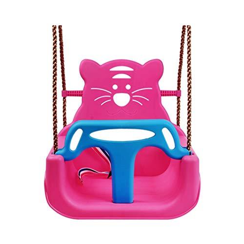 zxb-shop schaukel Kleinkind-Schwingen 41 Chair * 33 * 40cm Garten Babysitz, Kinder Adjustable Outdoor Garten Seil Sicherheitssitz Schaukelsitz (Color : A)