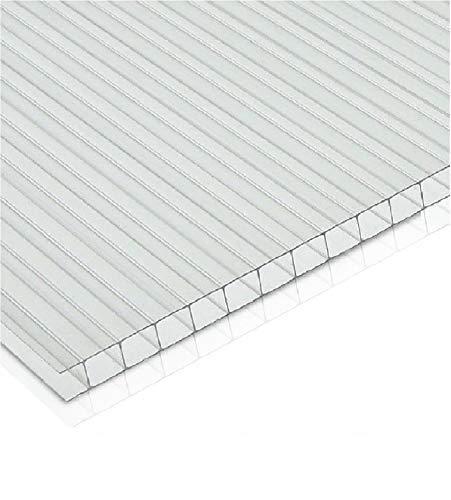 Plaque en tôle polycarbonate alvéolaire 210 x 100 cm épaisseur 10 mm