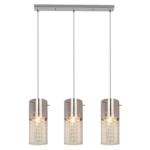 Light Prestige Zara 3 – Lámpara de techo, cristal, E27