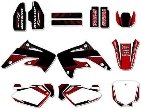 Graphics Background Decal Sticker Kit Liq CR85 for CR85R Translated Honda Max 83% OFF