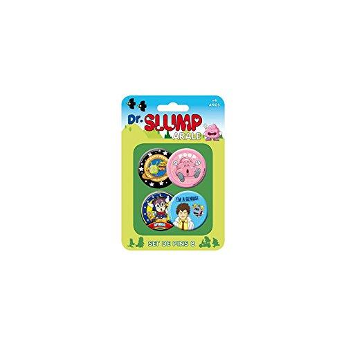 Dr. Slump - Pack 4 badges Set B