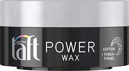 Schwarzkopf Taft puissance WAX Caféine + Puissance formule, Lot de 1 paquet (1x75ml)