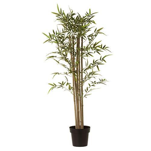 Planta Artificial Verde bambú y poliéster de 120 cm - LOLAhome