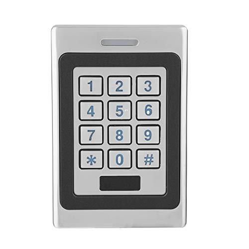 RFID Tür Zutrittskontrollsystem, IP68 Türöffner Codeschloss, Tastatursicherheitstürschloss für Fabrik Warehouse Wohngebäude Bank