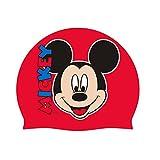 Mickey Mouse - Gorro para baño de Silicona (Arditex WD8316)