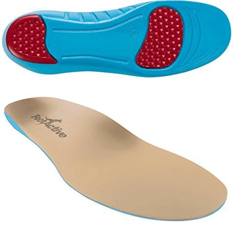FootActive Sensi - Einlegesohlen für empfindliche Füße - Eine Wohltat für Fersen und Fußballen! GR. 39-41 (S)