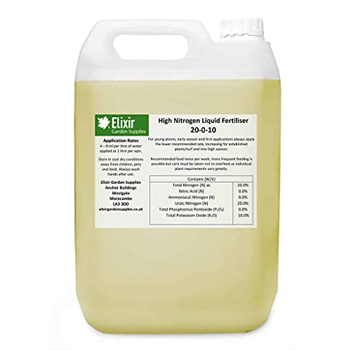 Elixir Gardens | High Nitrogen Liquid Fertiliser | All Season For Fruit,...