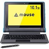 mouse E10 スタディパソコン 10.1型タブレットPC 2in1(落下耐性/防塵/防滴/スタイラスペン付/Win10 Pro/Celeron N4100/4GB/64GB eMMC/WPS) ME10cel200801