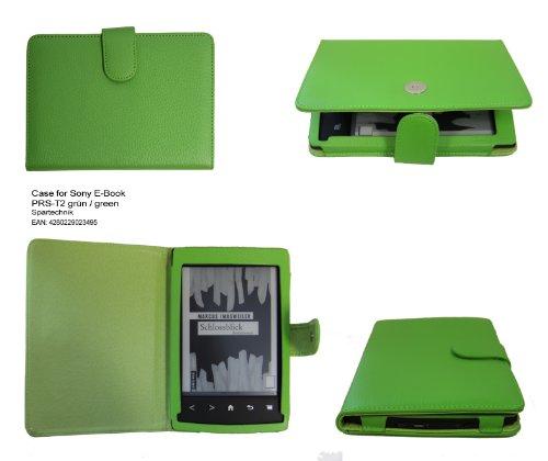 Spartechnik - Funda para e-reader Sony PRS-T2, color verde