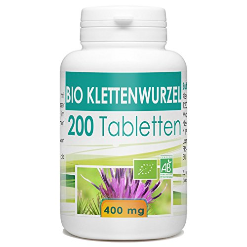Bio Klettenwurzel 400mg - 200 Tabletten