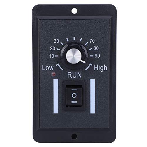 Regulador de motor, controlador de motor, interruptor de CC de reducción de velocidad, protección contra cortocircuitos de 6 A para 12 V / 24 V / 36 V / 48 V