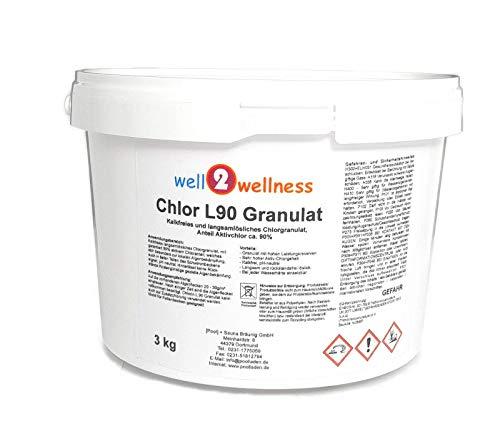 Chlor L90 Granulat - langsam lösliches Chlorgranulat mit 90% Aktivchlor 3,0 kg