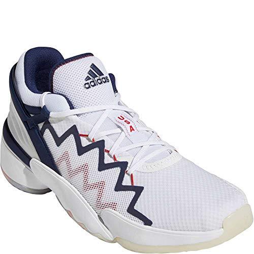 adidas Men's Don Issue 2 - GCA Basketball White/Navyblue/Scarlet 12