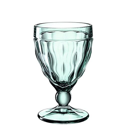 LEONARDO HOME BRINDISI 21607 - Copa de vino tinto (cristal, 310 ml), color verde