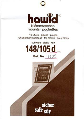 切手マウント 148x105ミリ ハウイド社 黒地マウント