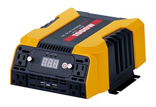 BAL ( 大橋産業 ) DC/ACインバーター 矩形波 DC12V車専用 定格出力:1000W 2806