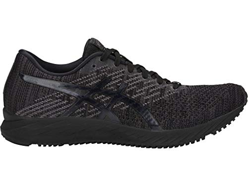 ASICS Women's Gel-DS Trainer 24 Running Shoes, 7M, Black/Black
