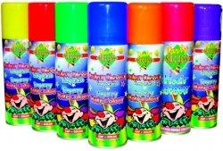 Fasching Leucht-Colour Haarspray 125 ml (weiß)