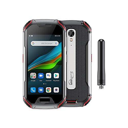 Unihertz Atom XL, The Smallest DMR Walkie-Talkie Rugged Smartphone Android 10 Unlocked 6GB+128GB