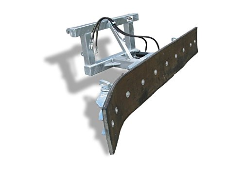 Schmutzschieber 2550mm Arbeitsbreite von Joma-Tech, hydraulisch schwenkbar, Euro-Aufnahme, verzinkt