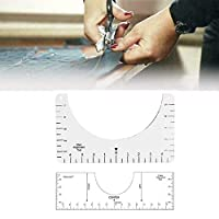 T-shirt Alignment Tool - Ruler - Centering Tool,with Size Chart for Guiding T-Shirt Design Fashion Men/Women's T-Shirts Rulers to Center Design -HTV Alignment Tool (10*6inch)
