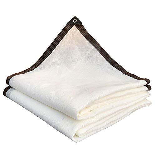 Witte Shading Net 95% UV Stof Outdoor Zonnescherm Schaduwdoek Tuin Hek Camping Plant Cover Auvents