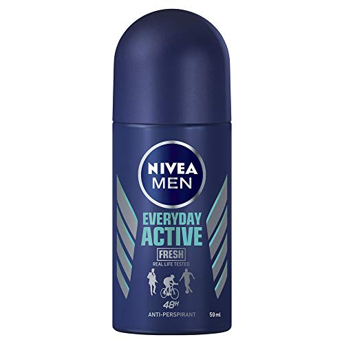 NIVEA MEN Everyday Active Fresh Roll On Anti-Perspirant Deodorant, 50ml