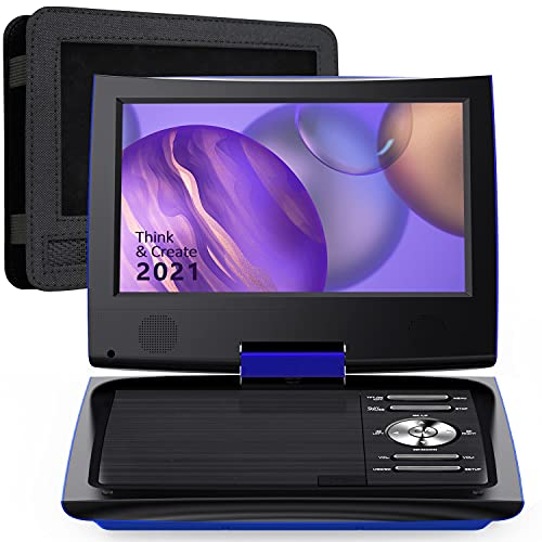 SUNPIN 11' Portable DVD Player for Car and Kids with 9.5 inch HD Swivel Screen, 5...