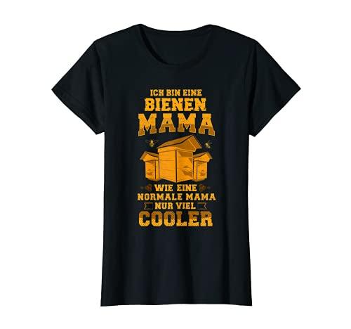 Damen Lustiges Bienenzüchter Imker Geschenk Bienen-Mama Outfit T-Shirt