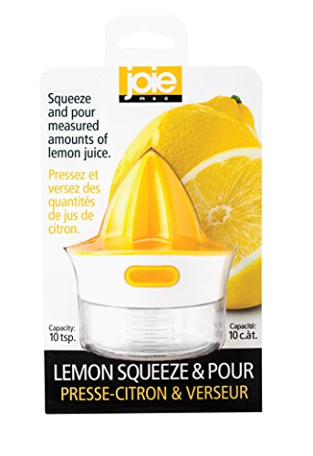 Joie Citrus Squeeze and Pour Juicer Reamer with Pour Spout, BPA Free and FDA Approved ABS, 10-Teaspoon Capacity by HIC Harold Import Co.