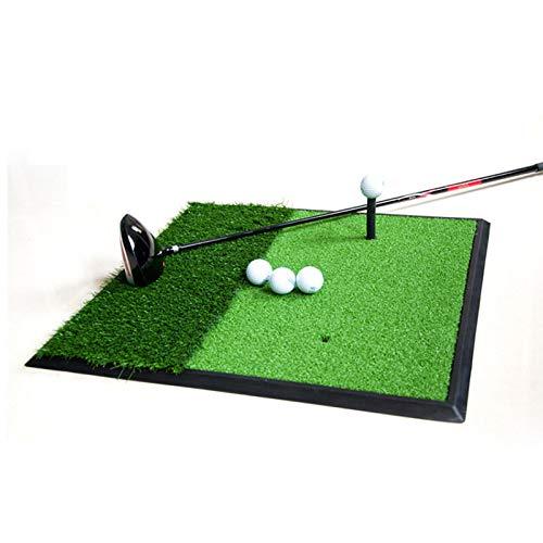 BAFEYU Golf-Übungsmatte Golf-Schlagmatte Langlebige Trainingshilfen Tragbare Golfmatte für den Außenbereich für den Garten und den Innenbereich