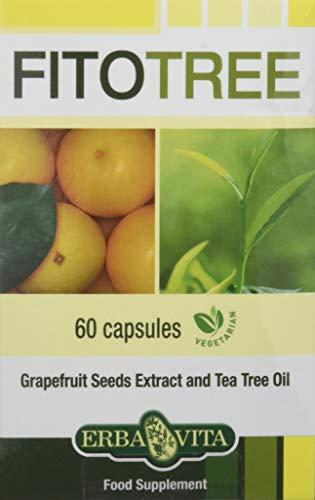 Erba Vita Integratore Alimentare Fitotree - 60 Capsule