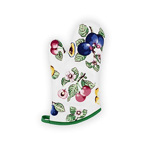 Villeroy and Boch French Garden Kitchen Oven Mitt, (Single), Multi