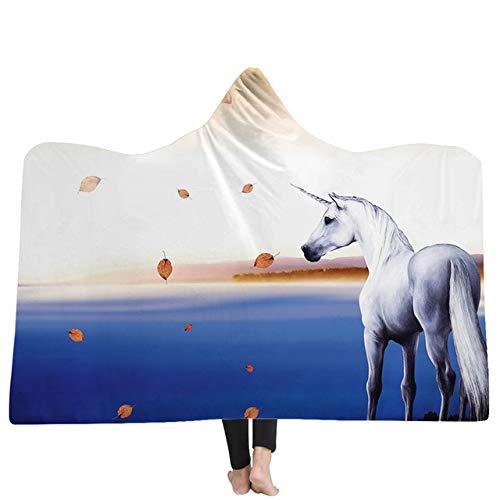 xkjymx Palm Lesung Wandbehang Astrologie Wandteppich Stoff Tiere Hut Decke mit Kapuze Coral Fleece Warm