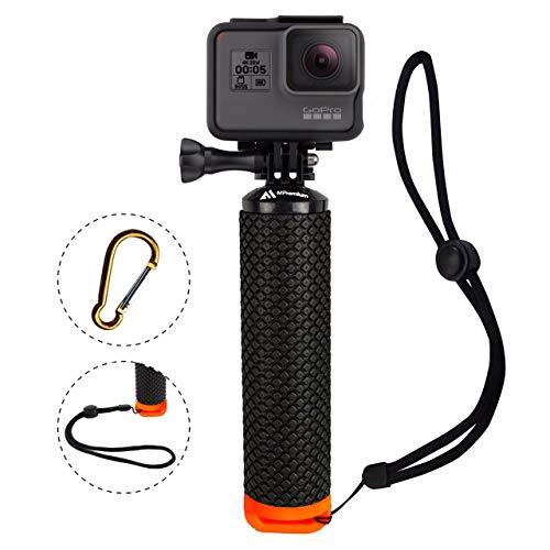 Docooler Float Hand Grip Buoyancy Rod Pole Stick Tr/ípode para GoPro Go Pro Hero 5/4/3/Xiaomi xiomi YI Action Camera